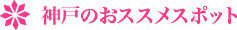 神戸のオススメスポット